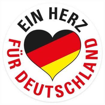 Deutsches Warenhaus Aufkleber Plakate