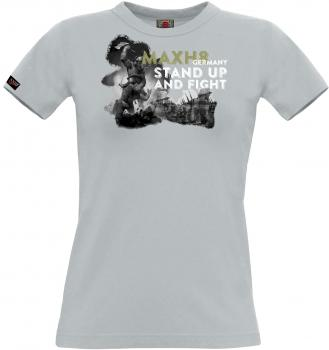 Max H8 - Mädel T SHIRT STAND UP