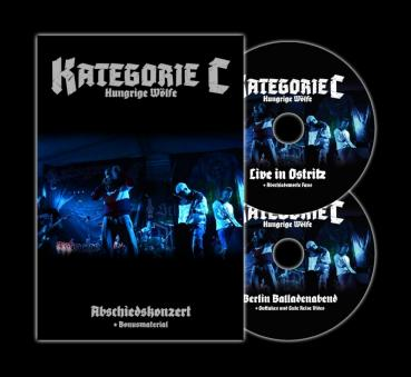 Kategorie C - Abschiedskonzert - Live in Ostritz - DVD Digipack limit 188