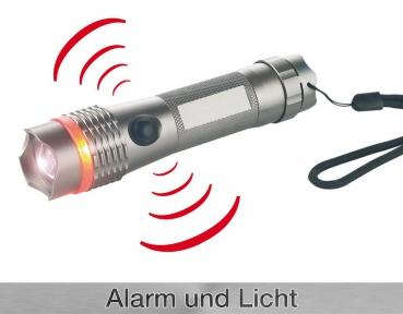 Alarm: Taschenlampe Personal Guard Pro LED