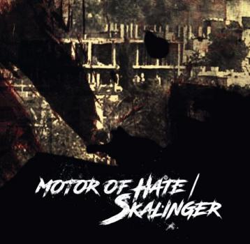 Motor of Hate / Skalinger -Split CD