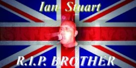 Skrewdriver Plakat - Ian Stuart - R.I.P. Brother