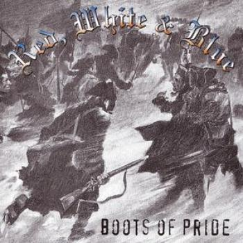Red , White & Blue - Boots of pride