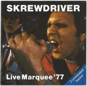 Skrewdriver - Live Marquee 1977