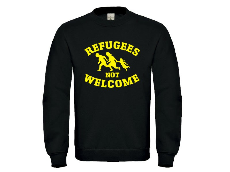 Deutsches Warenhaus Pullover Refugees Not Welcome